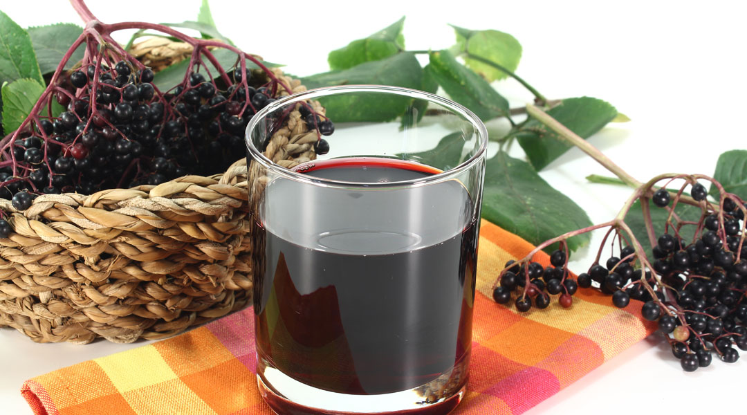 Fever-fighting-elderberry-infusion