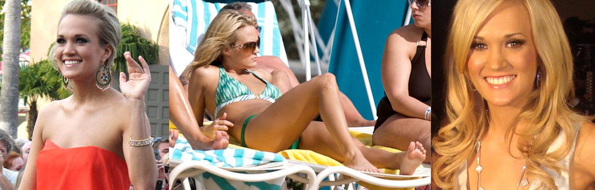 Carrie underwood bikini