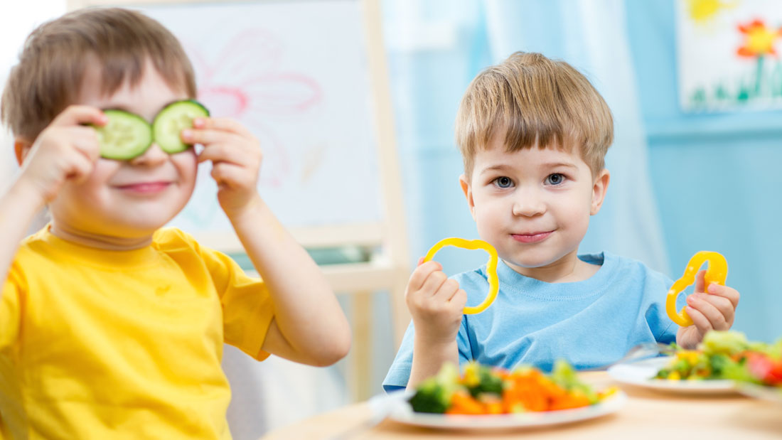 get your kid to eat healthy food