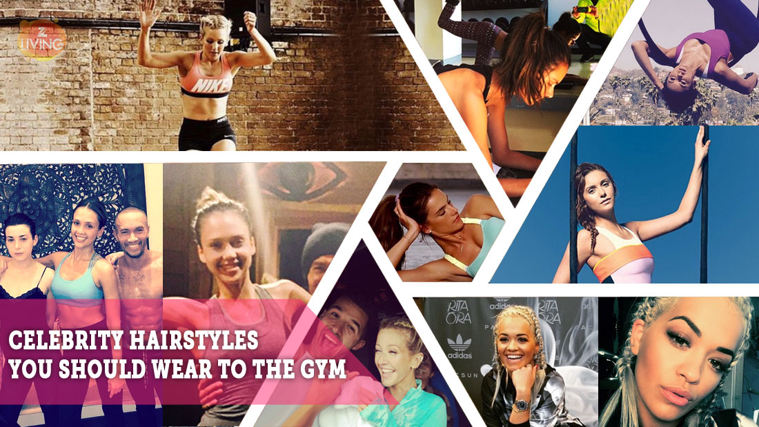 celebrity hairstyles to take to the gym