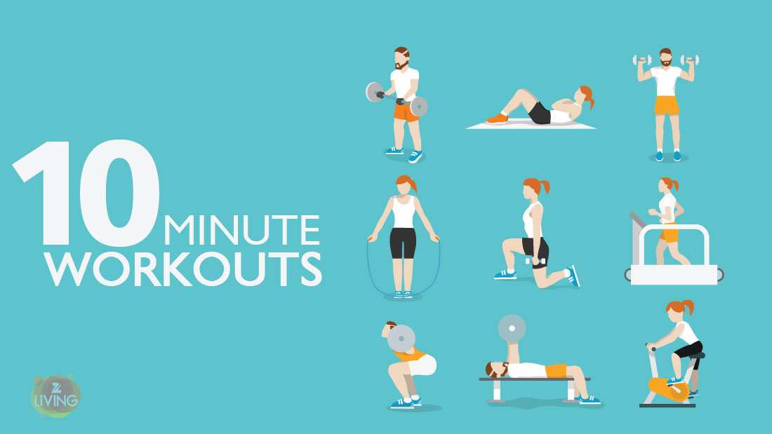 exercises that need only ten minutes