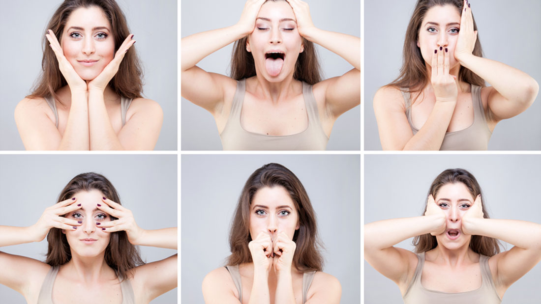 exercises to lose weight on face