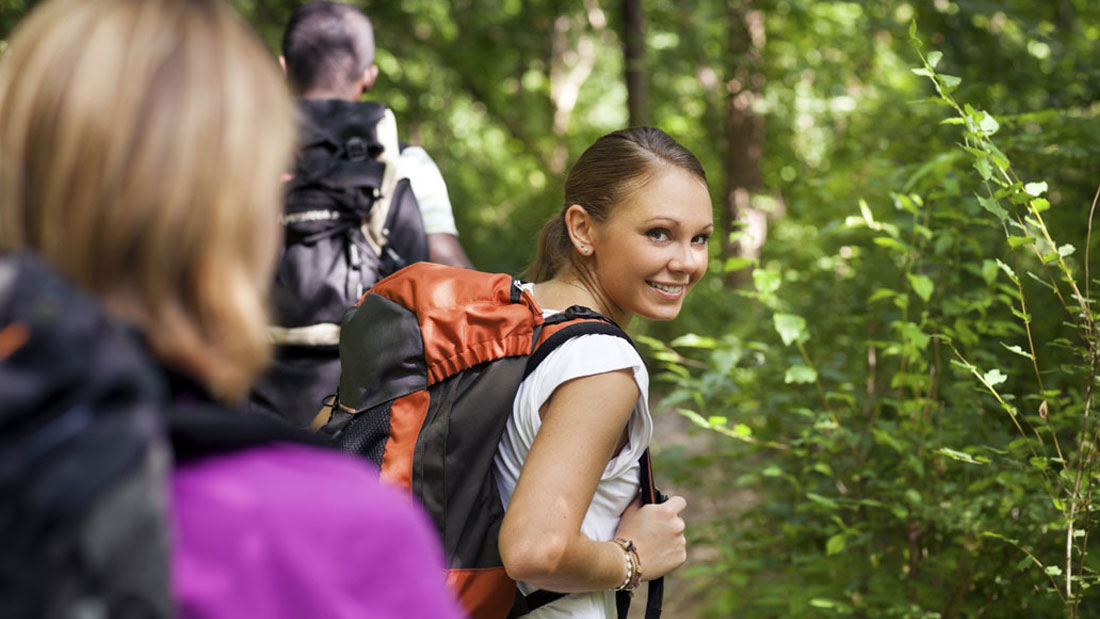 hiking for fitness is popular on twitter