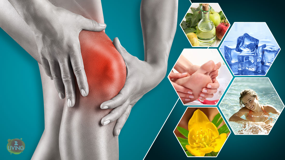 natural remedies for knee swelling