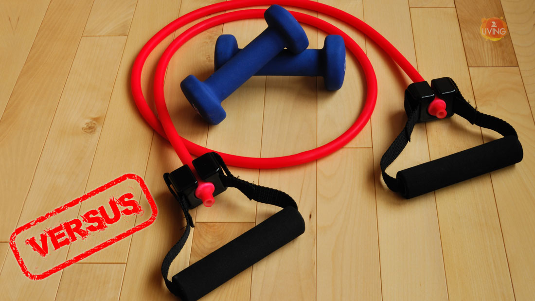 resistance-band-versus-free-weights