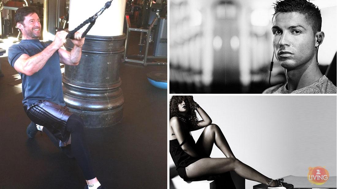 rihanna-fenty-cristiano-ronaldo-hugh-jackman-workout