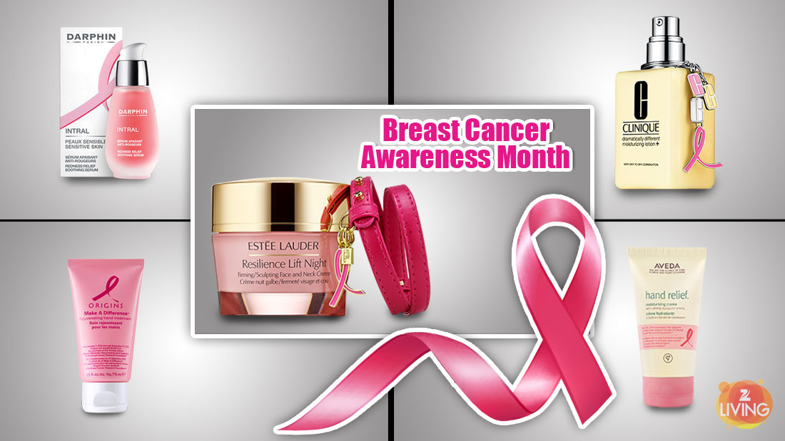 organic beauty products for breast cancer awareness month