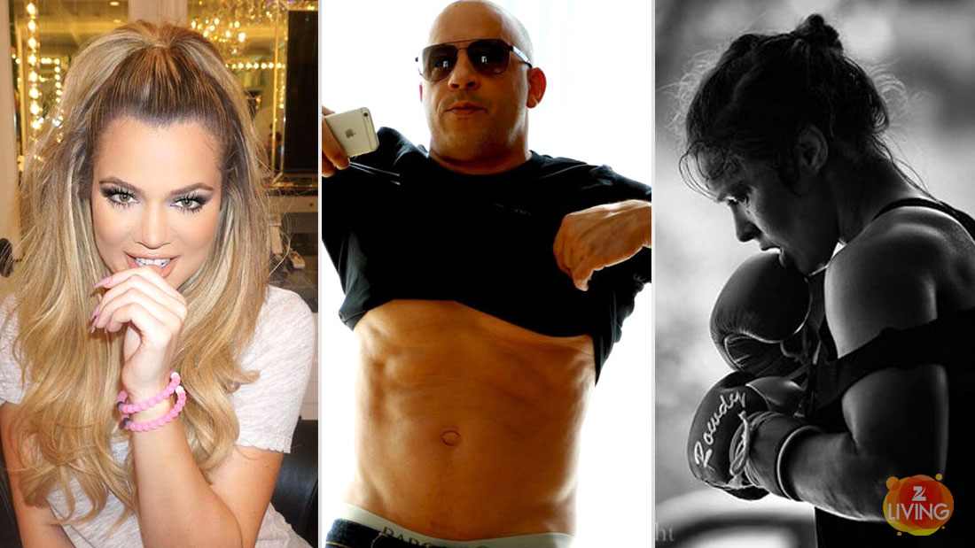 vin-diesel-ronda-rousey-khloe-kardashian-workout-