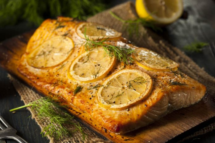 Baked Salmon Recipe with Lemon and Garlic
