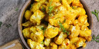 Oven Roasted Cauliflower Recipe