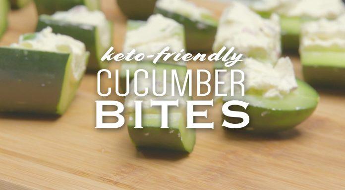 keto cucumber bites recipe