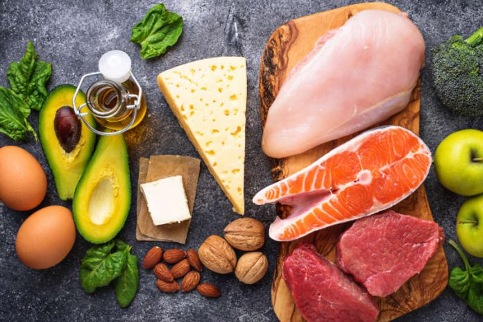 healthy foods with healthy fats