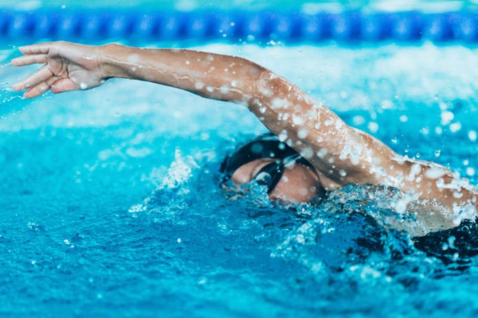Outdoor Series: Calorie Burning HIIT Workout in the Pool
