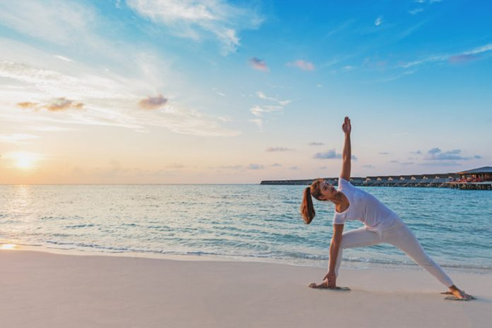 Extended Side Angle Pose to Boost Stamina and Improve Strength