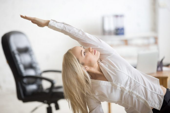 Exercises to Keep Your Muscles Toned and Firm While at Work