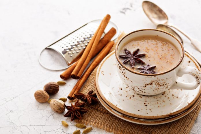 cup of masala chai tea