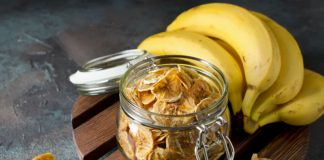 jar of plantain chips