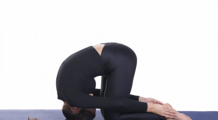 Rabbit Pose | Reset Your Posture and Stretch Your Shoulders