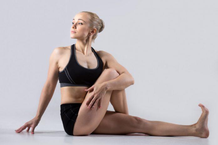 Twisted Pose (Vakrasana)   Twist to Reduce Unwanted Fat!