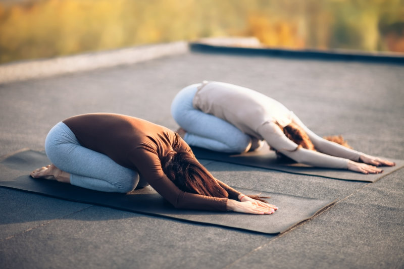 Yoga Poses to Help You Stop Overthinking Everything