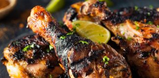 Jerk Chicken with limes