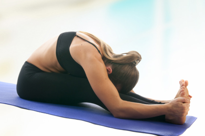 Seated Forward Bend   Calm the Nervous System and Balance Your Emotions - Z  Living