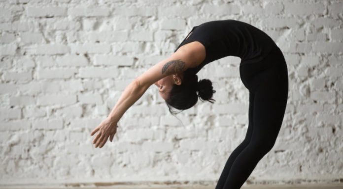 Standing Wheel Pose | Find Relief From Gas and Indigestion
