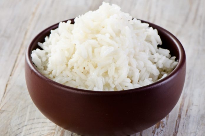 Thai sticky rice in a bowl