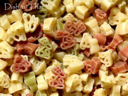 Colorful Pasta with Animal Shapes