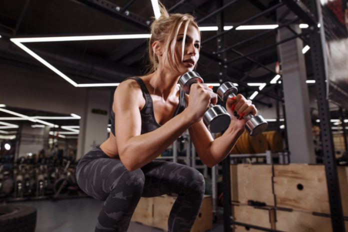 Strengthen Your Lower Body With This Dumbbell Workout