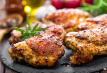 Sheet pan chicken with rosemary