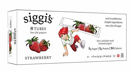 Siggi's Yogurt Tubes