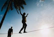 Why You Should Take a Stab at Slack Lining
