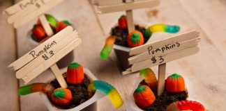 Dirt Cups for Halloween | DIY Craft Idea for the Kids