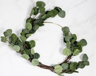 add a third eucalyptus stem