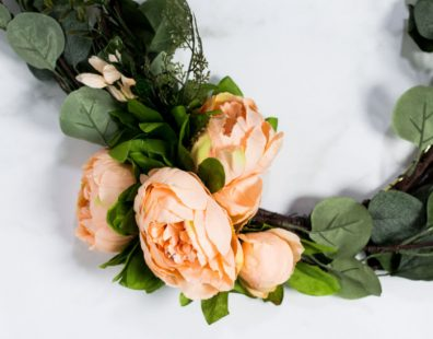 arrange peonies together