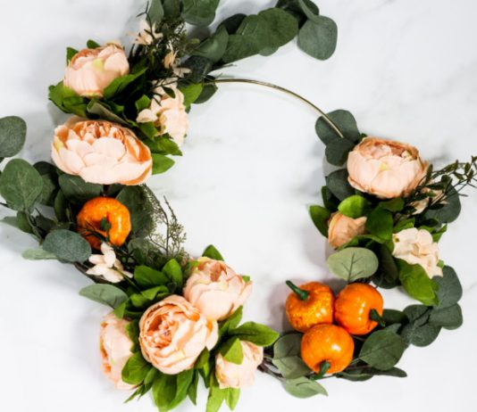 Fall Wreath Tutorial | DIY Floral Craft Idea for the Fall