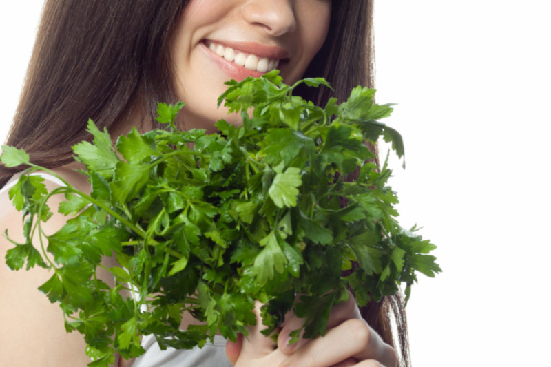 Parsley Is More Than Just An Ingredient It Can Also Boost Hair