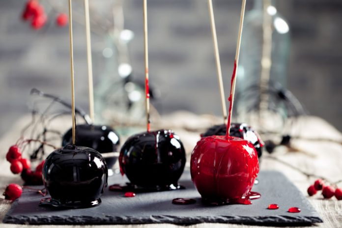 poison candy apples for halloween