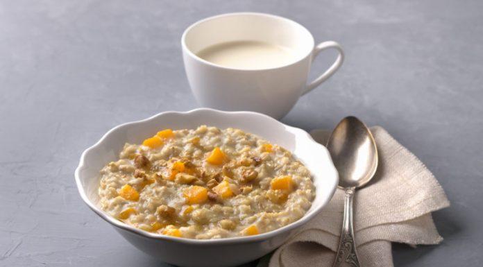 Pumpkin Spice Porridge in a bowl
