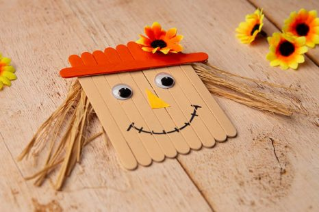 Scarecrow Craft DIY