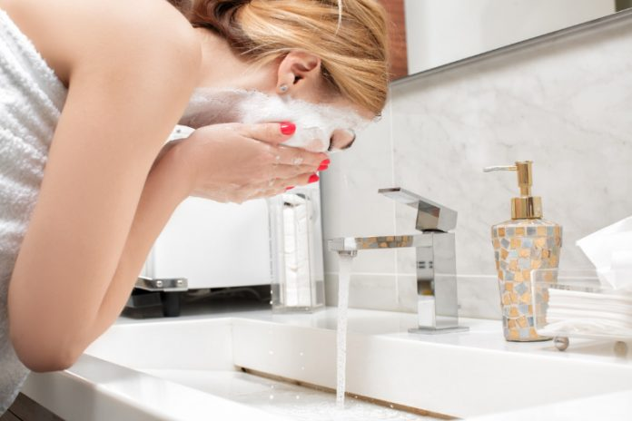 DIY Fall Exfoliating Facial Cleanser