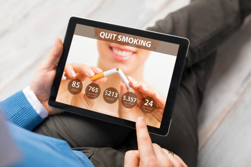 Want to Quit Smoking? There's an App for That