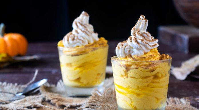 Keto-Friendly Pumpkin Mousse
