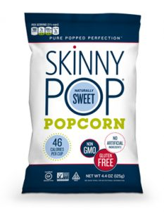 Skinny Pop Naturally Sweet Popcorn